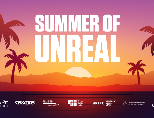 Join the Europe-wide Free Course in Unreal Engine